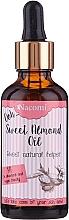 Парфюмерия и Козметика Масло от сладък бадем - Nacomi Sweet Almond Oil
