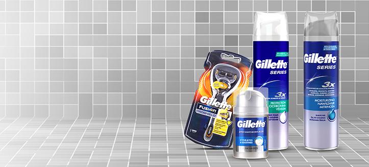 При покупка на продукти Gillette за сума над 25 лв. получавате подарък хидратиращ гел за бръснене