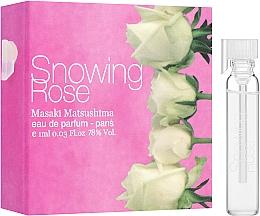 Парфюмерия и Козметика Masaki Matsushima Snowing Rose - Парфюмна вода (мостра)