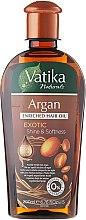 Парфюми, Парфюмерия, козметика Масло за коса с арган - Dabur Vatika Argan Enriched Hair Oil