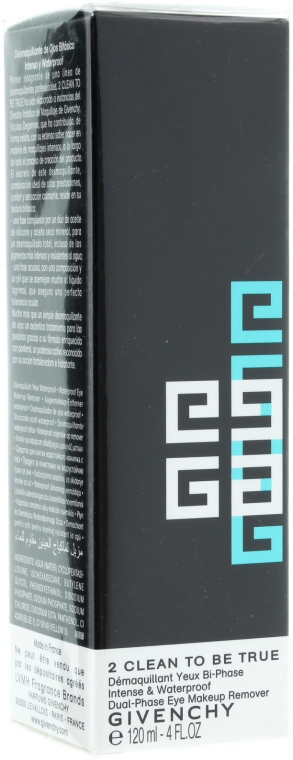 Почистващ гел за премахване на водоустойчив грим 2 в 1 - Givenchy 2 Clean to Be True — снимка N1