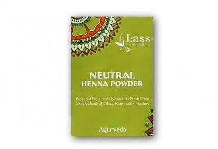 Къна за коса - Lass Naturals Henna Natural Hair Colour — снимка N4
