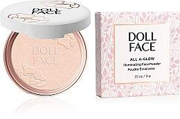 Парфюмерия и Козметика Озаряваща пудра за лице - Doll Face All A Glow Illuminating Powder