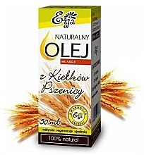 Парфюмерия и Козметика Натурално масло от пшеничен зародиш - Etja Natural Oil