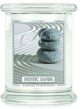 Парфюми, Парфюмерия, козметика Ароматна свещ в бурканче - Kringle Candle Mystic Sands