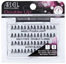 Парфюми, Парфюмерия, козметика Комплект мигли на снопчета - Ardell Double Up Knot Free Double Flares Black Short