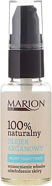Арганово масло за коса, тяло и лице - Marion Eco Oil — снимка N2