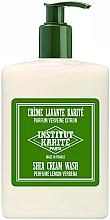 Парфюмерия и Козметика Душ крем за тяло с масло от ший и аромат на върбинка - Institut Karite Lemon Verbena Shea Cream Wash