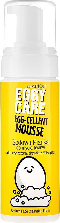 Измиваща пяна за лице - Marion Egg-Cellent Mousse Eggy Care