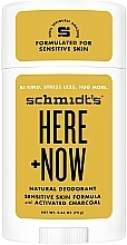 Парфюмерия и Козметика Натурален антиперспирант - Schmidt's Here +Now Natural Deodorant