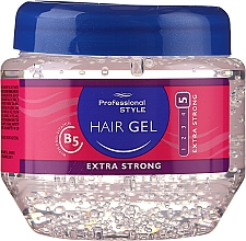 Парфюмерия и Козметика Гел за коса - Professional Style Hair Gel Extra Strong