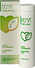 Парфюмерия и Козметика Почистващо мляко - Bema Cosmetici Bema Love Bio Cleansing Milk