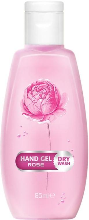 Антибактериален гел за ръце с роза - Bulgarian Rose Dry Wash Rose Hand Gel