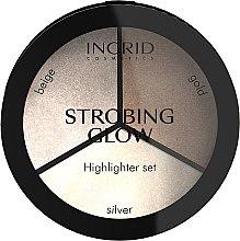 Парфюмерия и Козметика Палитра хайлайтъри - Ingrid Cosmetics Strobing Glow Palette