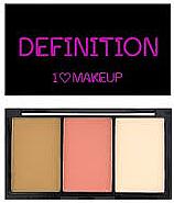 Парфюми, Парфюмерия, козметика Палитра за контуриране на лице - Makeup Revolution I Heart Makeup I Heart Definition