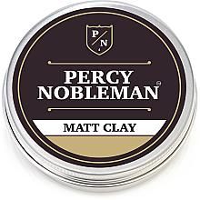 Парфюми, Парфюмерия, козметика Матова моделираща глина за коса - Percy Nobleman Matt Clay
