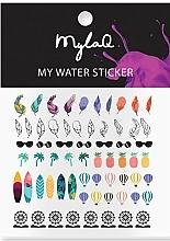 Парфюмерия и Козметика Стикери за маникюр - MylaQ My Holiday Sticker
