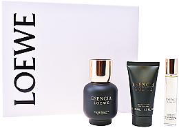 Парфюми, Парфюмерия, козметика Loewe Esencia Pour Homme - Комплект (edt/100ml + ash/balm/50ml + edt/20ml)