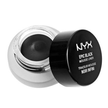 Мус очна линия - NYX Professional Makeup Epic Black Mousse Liner
