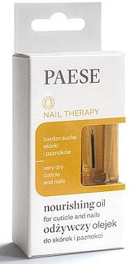 Хидратиращо масло за нокти - Paese Nail Therapy Nourishing Oil — снимка N1