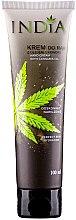Парфюми, Парфюмерия, козметика Крем за ръце с масло от коноп - India Hand Cream With Cannabis