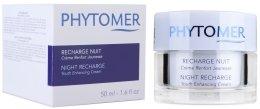 Възстановяващ нощен крем - Phytomer Night Recharge Youth Enhancing Cream — снимка N2