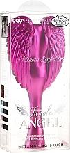 Четка за коса 18,7x9 см, цвят фуксия - Tangle Angel Fab! Fuchsia Detangling Brush — снимка N3