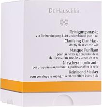 Парфюмерия и Козметика Маска за лице - Dr. Hauschka Clarifying Clay Mask (мини)