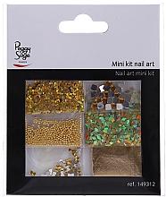 Парфюмерия и Козметика Комплект декорации за нокти, 149312 - Peggy Sage Mini Kit Nail Art (6 бр)