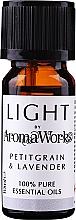 Парфюмерия и Козметика Етерично масло от петигрен и лавандула - AromaWorks Light Range Petitgrain and Lavender Essential Oil