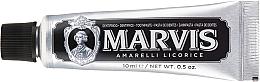 Парфюмерия и Козметика Паста за зъби - Marvis Dentif Amarelli Licorice (мини)