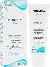 Парфюми, Парфюмерия, козметика Дневен овлажняващ крем - Synchroline Hydratime Plus Day Face Cream