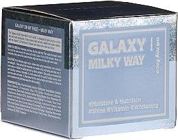 Парфюмерия и Козметика Ексфолираща маска за лице - Dermal Yeppen Skin Galaxy Milky Way On My Face