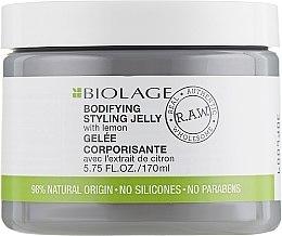 Парфюмерия и Козметика Стилизиращо желе за обем - Biolage R.A.W. Bodifiyng Styling Jelly