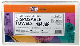 Парфюмерия и Козметика Еднократни кърпи, 50 бр. - Ronney Professional Disposable Towels Airlaid