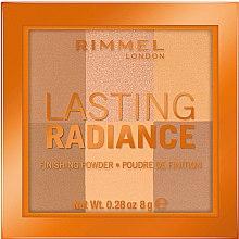 Парфюми, Парфюмерия, козметика Компактна пудра за лице - Rimmel Lasting Radiance