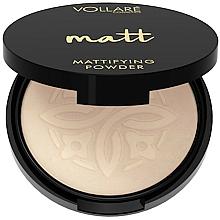 Парфюмерия и Козметика Матираща пудра за лице - Vollare Mattifying Face Powder