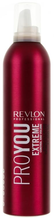 Пяна ултра-силно фиксиране - Revlon Professional Pro You Extra Strong Hair Mousse Extreme — снимка N1