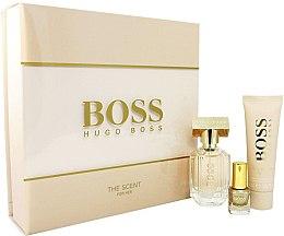 Парфюми, Парфюмерия, козметика Hugo Boss The Scent For Her - Комплект (edp/30ml + b/lot/50ml + nail/polish/4.5ml)