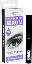 Парфюмерия и Козметика Серум за мигли и вежди - Sincero Salon Lash & Brow Serum