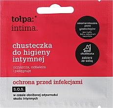 Парфюми, Парфюмерия, козметика Кърпички за интимна антибактериална хигиена 1 бр - Tolpa Intima
