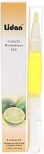 """Парфюми, Парфюмерия, козметика Масло от молив за аромат на кутикула """"Лимон"""" - Lidan Curticle Revitalizer Lemon Oil"""