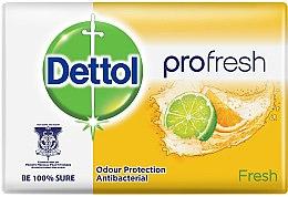Парфюмерия и Козметика Антибактериален сапун с освежаващ цитрус - Dettol Fresh Antibacterial Soap