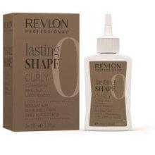Парфюми, Парфюмерия, козметика Комплект за къдрене на твърда коса - Revlon Professional Lasting Shape Curly Lotion Resistant Hair (lot/3x100ml)