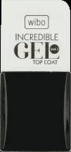Парфюми, Парфюмерия, козметика Топ лак - Wibo Incredible Gel Top Coat