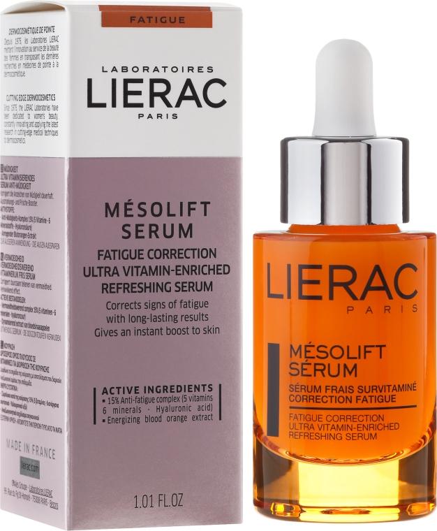 Витаминен серум за лице против умора - Lierac Mesolift Serum