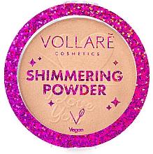 Парфюмерия и Козметика Блестяща пудра за лице - Vollare Shimmering Powder