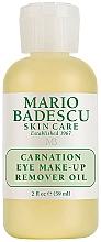 Парфюмерия и Козметика Масло за премахване на грим от очи - Mario Badescu Carnation Eye Make-Up Remover Oil