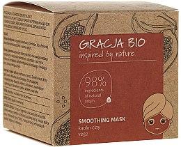 Парфюмерия и Козметика Изглаждаща маска за лице с каолинова глина - Gracja Bio Smoothing Mask