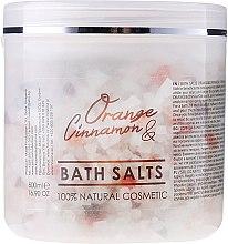Парфюми, Парфюмерия, козметика Соли за вана - Hristina Cosmetics Sezmar Professional Orange & Cinnamon Bath Salts